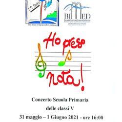 Concerto e Certificazioni musicali Scuola Primaria 2021